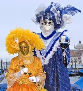 Venetian Masks indicate behaviours of mask wearers